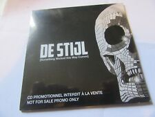"""De Stijl, """"Something Wicked This Way Comes"""" (12 track promo CD)"""