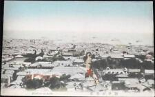 OLD JAPANESE POSTCARD OF HARBOUR OF KOBE - C1920 JAPAN
