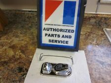 68-78 AMC,AMX&Javelin,Rebel,Gremlin, Chrome Master Cover& Clamp,New ,Show