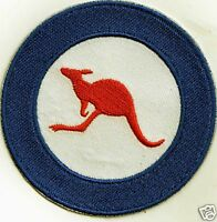 3 INCH RAAF ROUNDEL IRON ON  PATCH BUY 2 GET 1 FREE