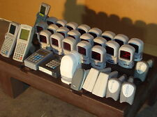LOT OF 33 SCANNERS AND ACCESSORIES VERY LOW PRICE WITH FREE SHIPPING
