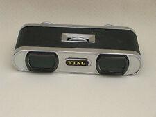 King 3x Prismáticos de bolsillo/anteojos de ópera