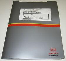 Werkstatthandbuch Seat Ibiza Cordoba Vario Einspritz Motor 4 Zylinder ab 1999!