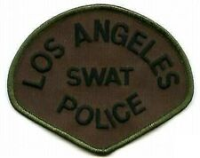 LOS ANGELES POLICE LAPD SWAT SUBDUED LAPD SWAT PATCH