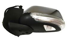Door Mirror L/H Chrome Electric+LED+Puddle Lamp For Nissan Navara D40 05  RHD
