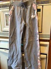 Athletic Zero Posur Girls Athletic Stretch Pants Grey Size L (14)