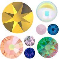 """Special Limited Color"" Swarovski No-Hotfix Crystal Flatback Rhinestones *U Pick"