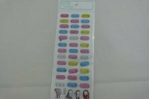 Crystal Stickers - Oval shape face expression Gel stickers