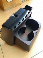 1PC GENUINE BLACK REAR CONSOLE CUP HOLDER FOR TOYOTA HILUX SR5 MK6 MK7 FORTUNER