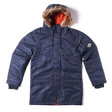 Abrigos y chaquetas de mujer Parka color principal azul