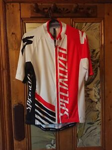 Specialized  black and Red short sleeve cycling shirt XL, VGC