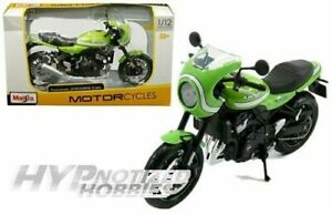 MAISTO 1:12 KAWASAKI Z900RS LIME GREEN 07503