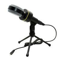 3.5mm Condenser Professional Microphone Mic Tabletop Sound Studio Recording