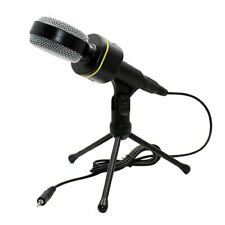 3.5mm Condenser Professional Microphone Mic Tabletop Sound Studio Recording