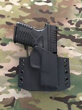 Black Kydex Springfield XDS 3.3 Holster