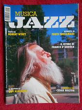 Rivista MUSICA JAZZ 5/2004 Rober Wyatt Cedar Walton Guy Klucevsek Tofanelli Nocd
