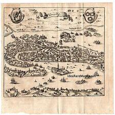 1702 FRITSCHEN Veduta generale di VENEZIA  - Originale in ottimo stato