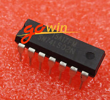 10PCS IC GATE NOR 4CH 2-INP 14-DIP NEW TI SN74LS02N 74LS02