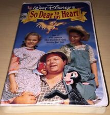 Disney - So Dear to My Heart (VHS, 1992)