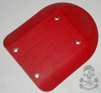 SANTA CRUZ '80s Cell Block III  Skateboard Riser Pad - Red - Old School NOS