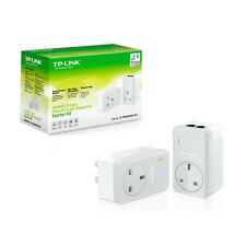TP-LINK TL-PA4020PKIT 600MBPS HOME PLUG POWERLINE KIT WITH AC PASS THROUGH