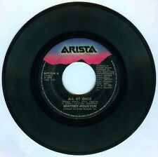 Philippines WHITNEY HOUSTON All At Once 45 rpm Record