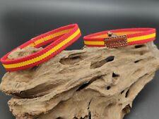 Pulsera bandera España ELASTICA 18x1cm Española pulseras cordon Español elástico