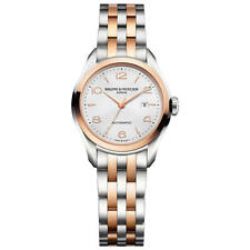 BAUME & MERCIER Clifton Two-tone AUTO Ladies Watch 10152 - RRP £3190 - NEW