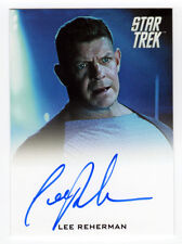 Star Trek Movies Into Darkness Lee Reherman as USS Vengence Security Officer