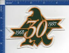 Authentic MLB- Oakland Athletics 30th Anniversary patch NOS 1997