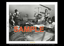 The Beatles  photo let it be session black boarder 5X7 1 in stock Ko-dak Pro Lab