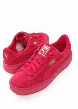 Puma Suede Platform Trace Valentines  Edition Sneakers Womens Sz 9 New w Defect
