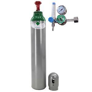 Botella de gas puro 4.8 Argón (100%) soldadura 8 litros TIG/WIG MIG con REDUCTOR
