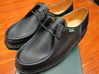 Paraboot Michael/Marche II Noire-Lis Nuit #715610 Made in France