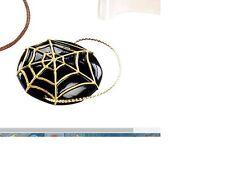 CHARLOTTE OLYMPIA BARBIE DOLL BLACK SPIDER WEB FASCINATOR HAT,
