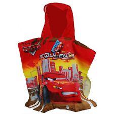 Official Poncho Kids Beach Bath Swim Towel Disney Pixars Cars Hooded Poncho