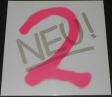 NEU! neu! 2 EUROPE LP new sealed WHITE VINYL la dusseldorf EMBRYO 2nd album