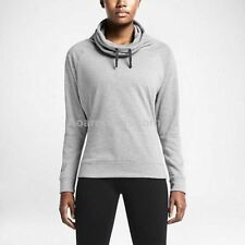 Nike Obsessed Infinity Coverup Turtle Sweat 640391 363 Gray NWT Women's Size M