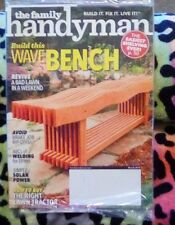 The Family Handyman Magazine - March 2018 - Build a Wave Bench *** NEW
