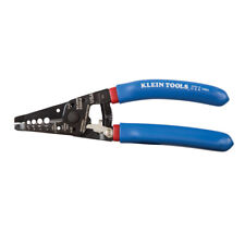 11053 Klein-Kurve Wire Stripper and Cutter for 6-12 AWG Stranded Wire, 7-1/8in