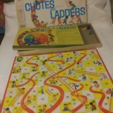 VINTAGE 1972 CHUTES AND LADDERS GAME