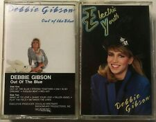 Lot of 2 Debbie Gibson Cassettes Out of the Blue Electric Youth
