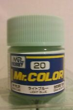 "Gunze Sangyo ""Mr Color"" acrylic paint C-20 Light Blue 10ml"