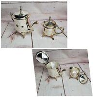 Silver Plated International Silver Company Tea Accessory Set