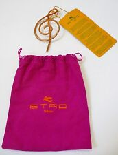 """Etro NWT Unisex Copper Color Metal """"G Clef"""" Open Pin for Pocket Retail $225."""