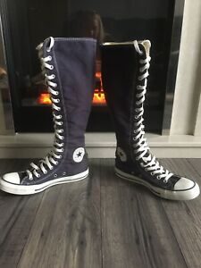 converse knee high boots 6