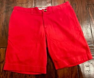 Parke & Ronen Red Chino Shorts 30