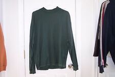Mens Structure Medium Green Long Sleeve T Shirt Good Condition! Modivated Seller