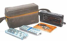 Vintage Kodak Telephoto Instamatic 708 Camera - Leather Case & Instructions