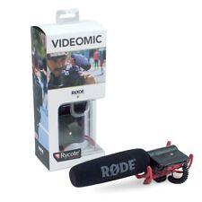 Rode VideoMic On-Cam Shotgun Microphone with Rycote Kit - DSLR Camera /Camcorder